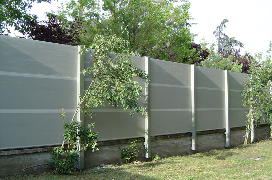 ecotech pro barriere antirumore con pannelli acustici On pannelli antirumore per esterni